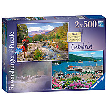 Buy Ravensburger Picturesque Cumbria Jigsaw Puzzles, 500 pieces, Pack of 2 Online at johnlewis.com
