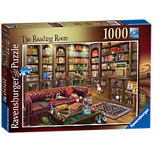 Buy Ravensburger The Reading Room Jigsaw Puzzle, 1000 pieces Online at johnlewis.com