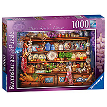 Buy Ravensburger Mum's Kitchen Dresser Jigsaw Puzzle, 1000 pieces Online at johnlewis.com