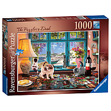 Buy Ravensburger The Puzzler's Desk Jigsaw Puzzle, 1000 pieces Online at johnlewis.com