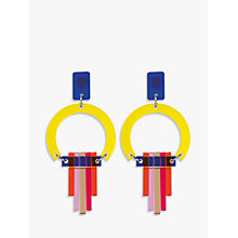 Buy Toolally Art Deco Chandelier Drop Earrings Online at johnlewis.com