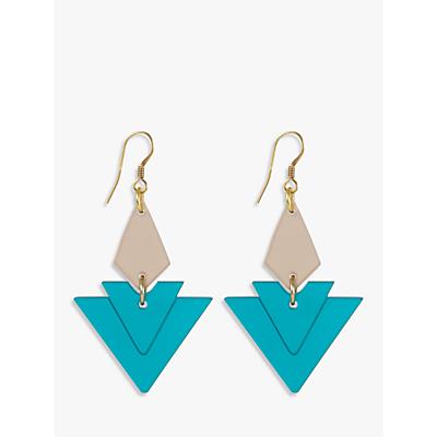 Image of Toolally Diamonds Drop Earrings