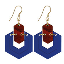 Buy Toolally Hexagons Drop Earrings Online at johnlewis.com