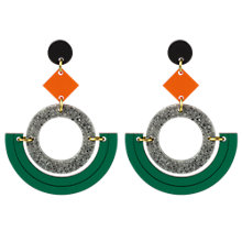 Buy Toolally Mini Boatman Drop Earrings Online at johnlewis.com