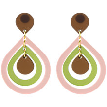 Buy Toolally Pear Drop Earrings Online at johnlewis.com
