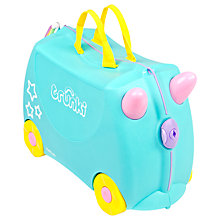 Buy Trunki Una the Unicorn, Turquoise Online at johnlewis.com