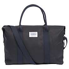 Buy Barbour Archive Waxed Cotton Holdall, Navy Online at johnlewis.com