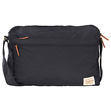 Buy Barbour Lifestyle Packaway Messenger Bag, Navy Online at johnlewis.com