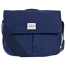 Buy Barbour Cotton Tarras Messenger, Navy Online at johnlewis.com