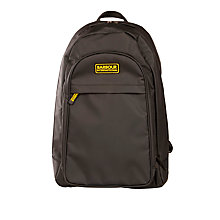 Buy Barbour International Balance Backpack, Black Online at johnlewis.com