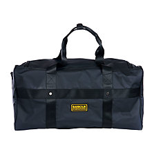 Buy Barbour International Lockset Holdall, Black Online at johnlewis.com