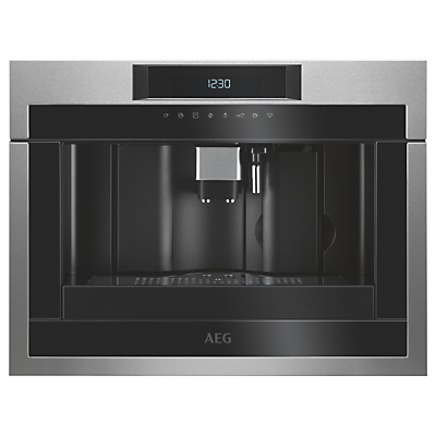 AEG KKE884500 Built-In Coffee Machine, Black