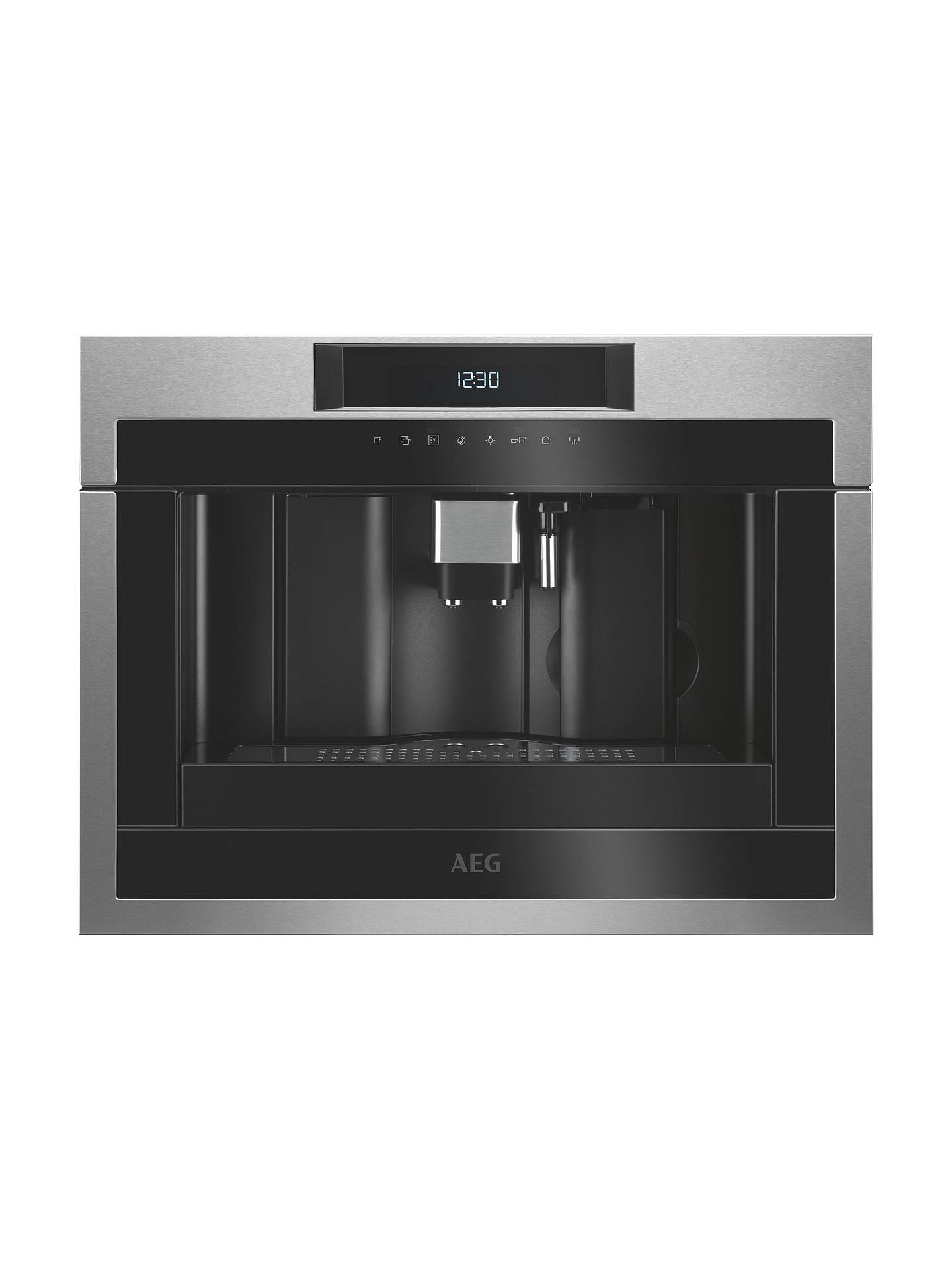 Aeg Kke884500 Built In Coffee Machine Black