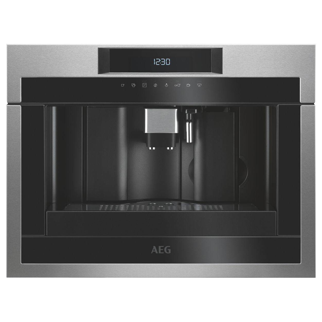 AEG AEG KKE884500 Built-In Coffee Machine, Black