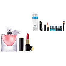 Buy Lancôme La Vie Est Belle Eau de Parfum and L'Absolu Rouge Cream Lipstick, 6 with Gift Online at johnlewis.com