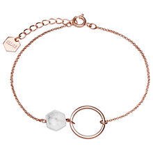 Buy CLUSE Open Circle Chain Bracelet Online at johnlewis.com