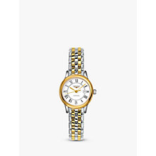 Buy Longines L43743217 Women's Flagship Automatic Date Two Tone Bracelet Strap Watch, Silver/Gold Online at johnlewis.com