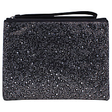 Buy Carvela Gaye Clutch Bag, Black Online at johnlewis.com
