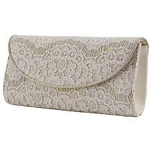 Buy Rainbow Club Laurel Clutch Bag, Ivory Online at johnlewis.com