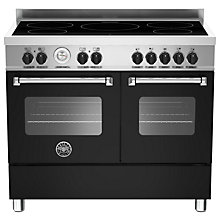 Buy Bertazzoni Master Series 100cm Induction Range Cooker Online at johnlewis.com