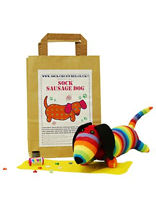 Sock Creatures Sausage Dog Sock Creature Craft Kit