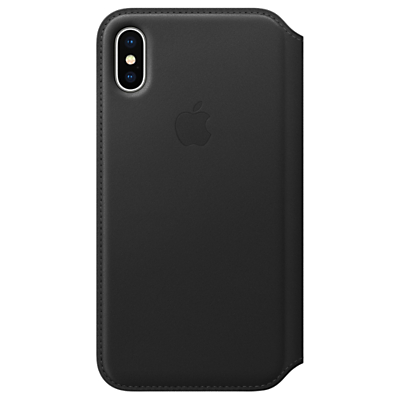 Image of Apple Leather Folio Case for iPhone X