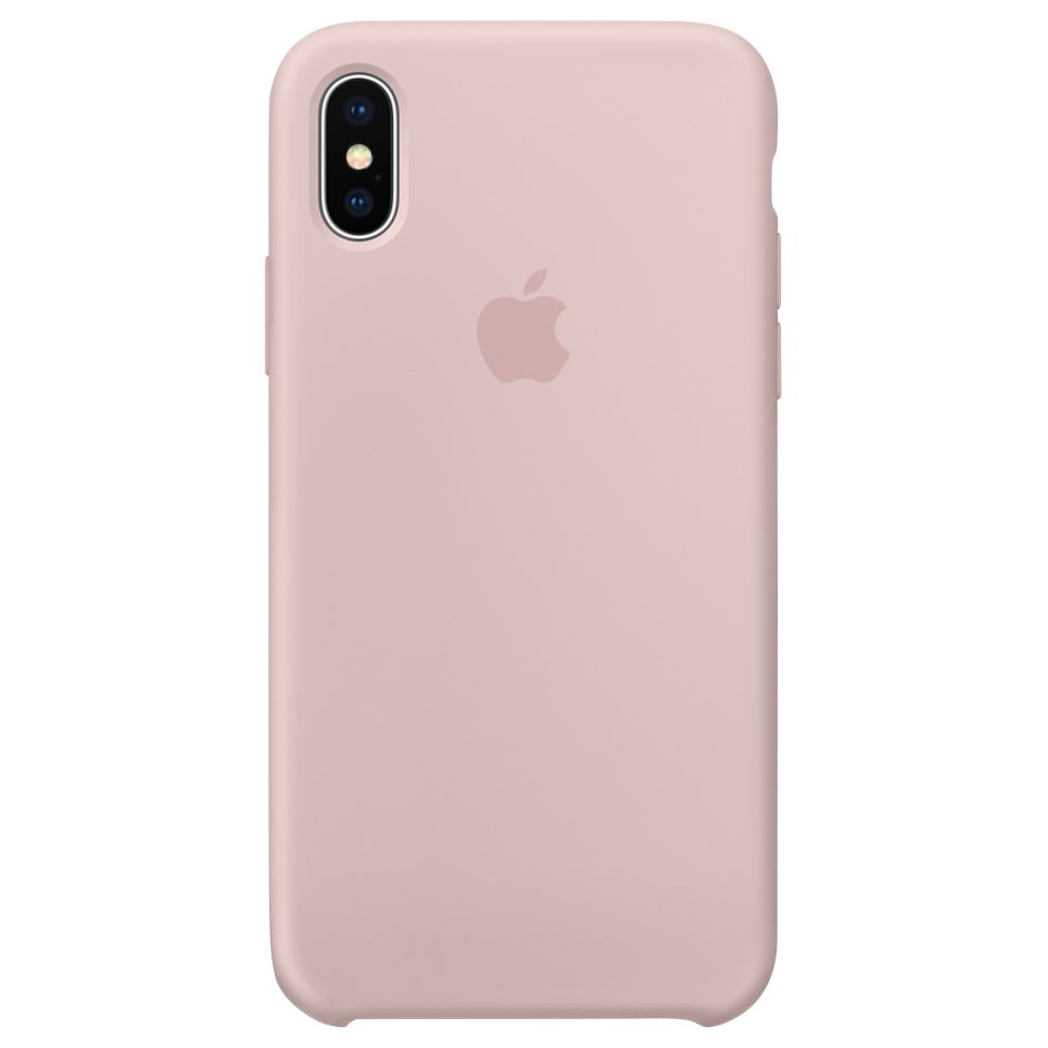 cover silicone iphone x apple