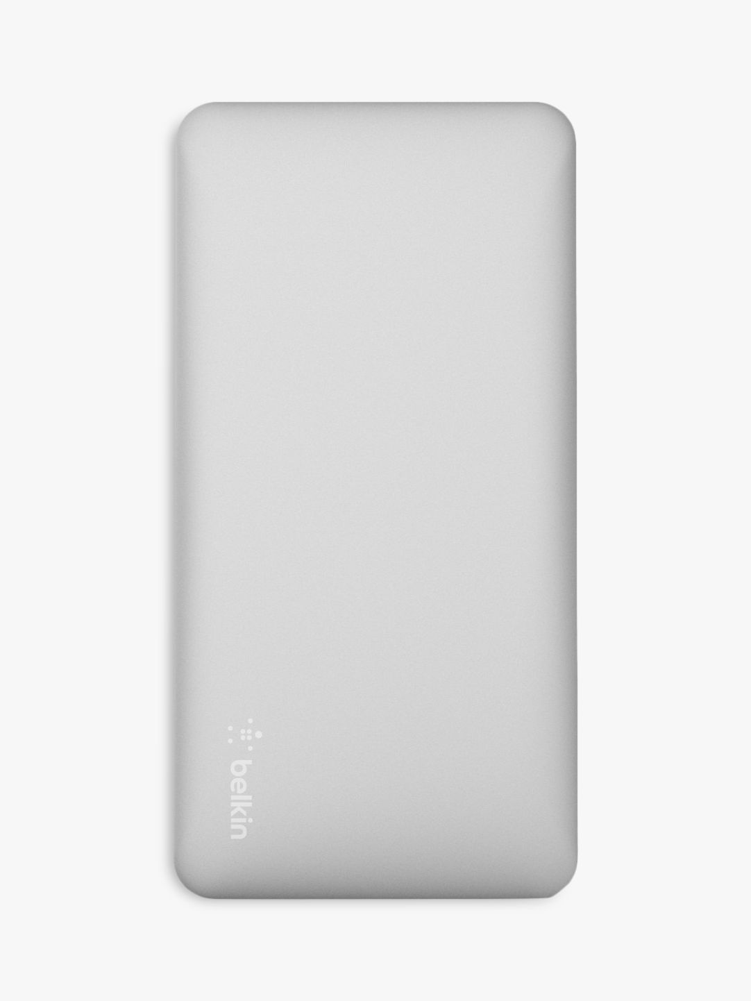 Belkin Belkin Pocket Power 10K Portable Power Bank Charger, Dual Port USB, Silver