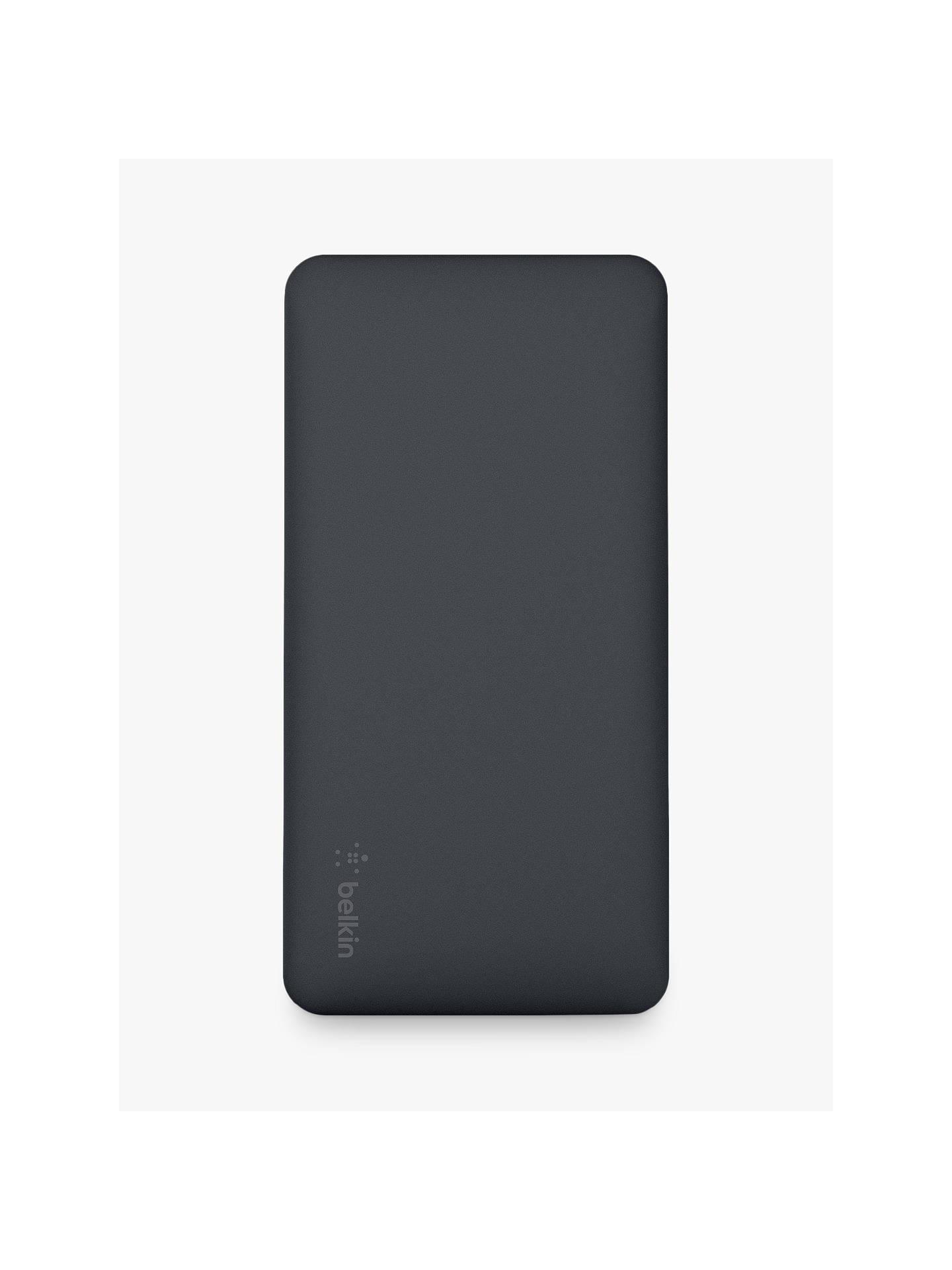 Belkin Pocket Power 15 K Portable Power Bank Charger, Dual Port Usb, Black by Belkin
