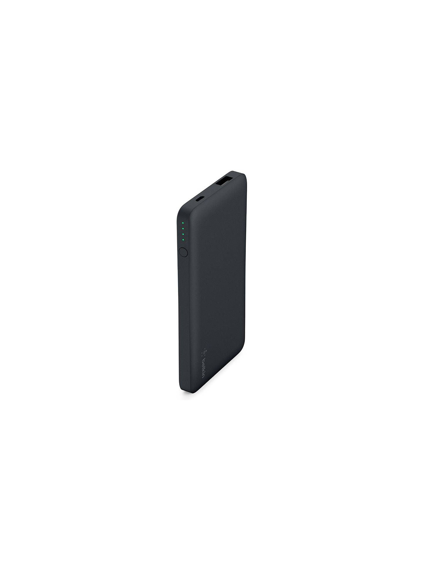 Buy Belkin Pocket Power 5K Portable Power Bank, Black Online at johnlewis.com