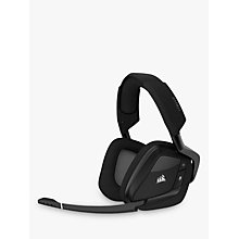 Buy Corsair Void Pro RGB Wireless Dolby 7.1 Surround Gaming Headset, Carbon Online at johnlewis.com