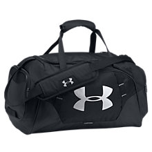 Buy Under Armour Storm Undeniable 3.0 Large Duffel Bag, Black/Silver Online at johnlewis.com