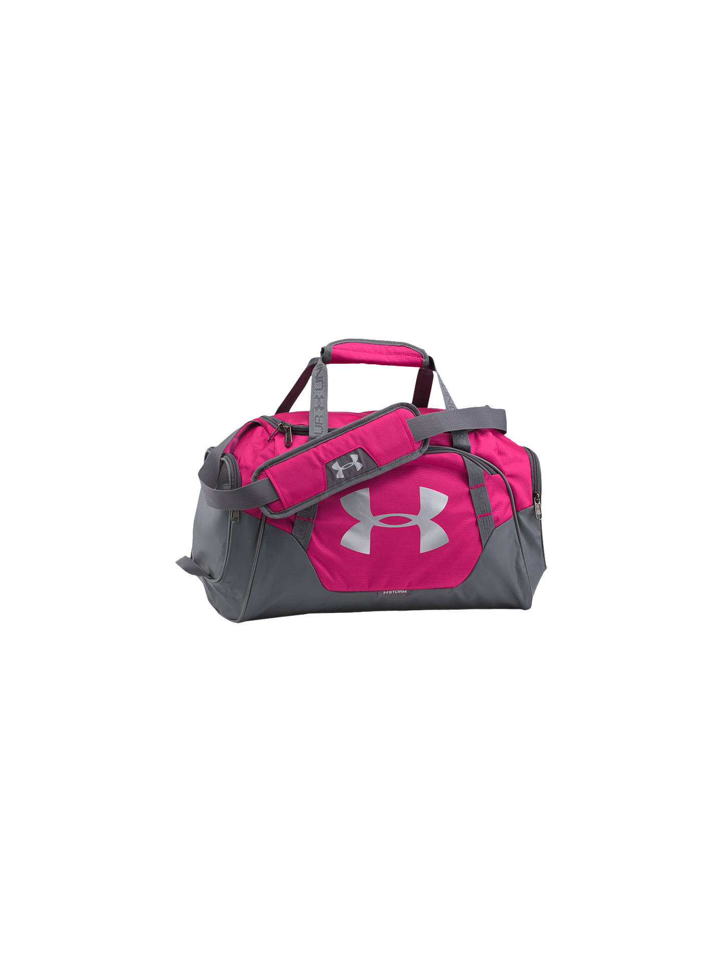 6ca59a3bce5 Buy Under Armour Storm Undeniable 3.0 Extra Small Bag, Pink Online at  johnlewis.com ...