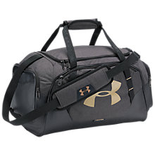 Buy Under Armour Storm Undeniable 3.0 Small Duffel Bag, Black/Gold Online at johnlewis.com