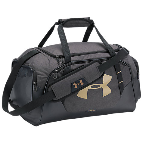 Buy Under Armour Storm Undeniable 30 Small Duffel Bag Black Gold Online At Johnlewis