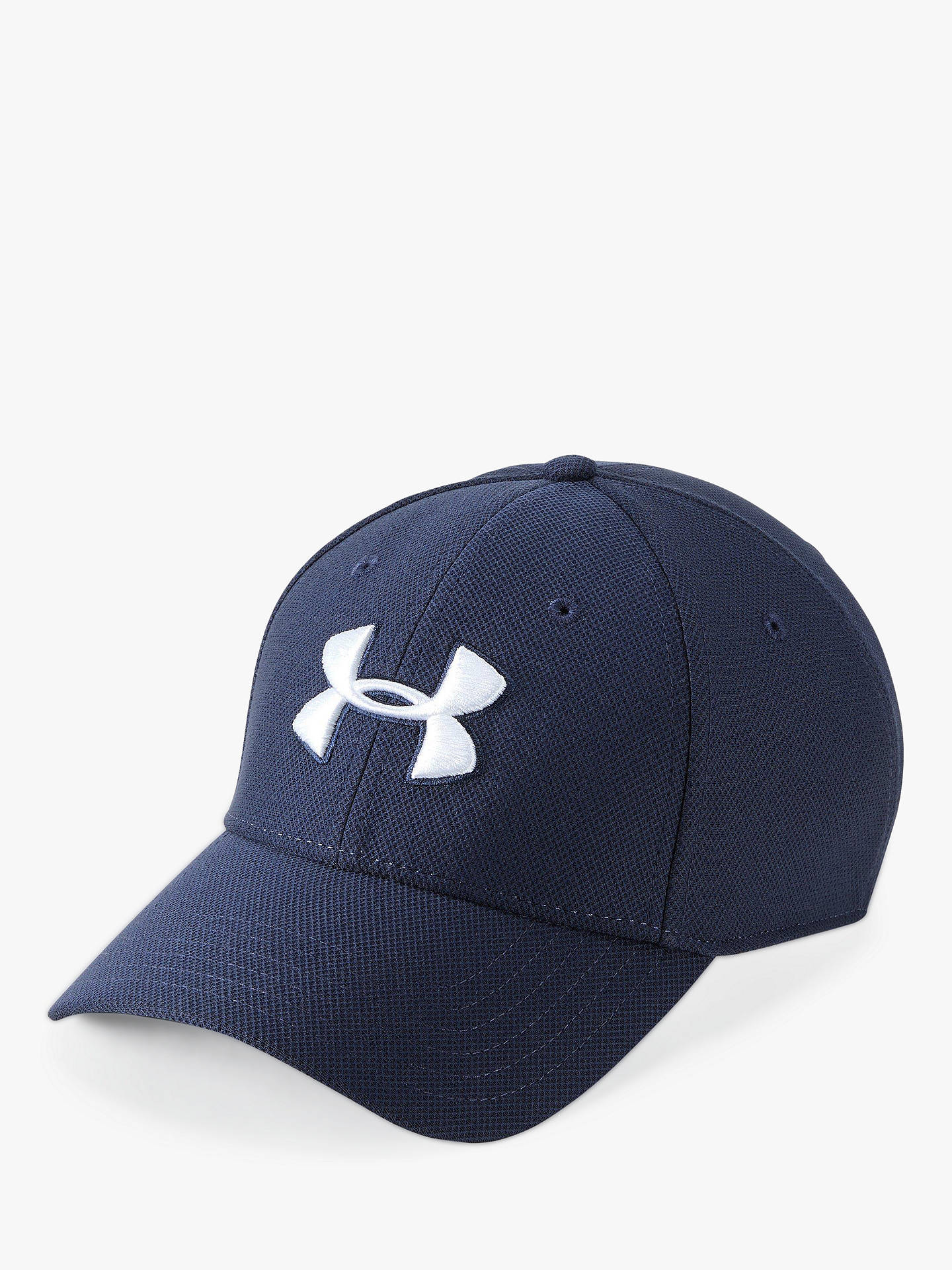 premium selection 8732a 346e7 Buy Under Armour Blitzing 3.0 Cap, Midnight Navy Online at johnlewis.com ...