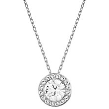 Buy Swarovski Angelic Round Crystal Pendant Necklace Online at johnlewis.com