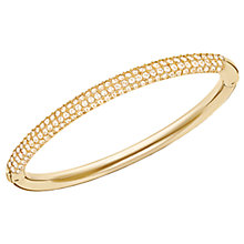Buy Swarovski Stone Mini Crystal Bangle Online at johnlewis.com