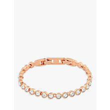Buy Swarovski Crystal Tennis Bracelet Online at johnlewis.com