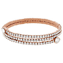 Buy Swarovski Twisty Crystal Cuff Online at johnlewis.com