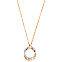 Buy Swarovski Exact Crystal Intertwined Pendant Necklace Online at johnlewis.com