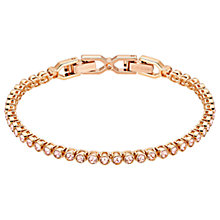 Buy Swarovski Emily Crystal Tennis Bracelet Online at johnlewis.com