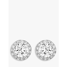 Buy Swarovski Angelic Round Crystal Stud Earrings Online at johnlewis.com