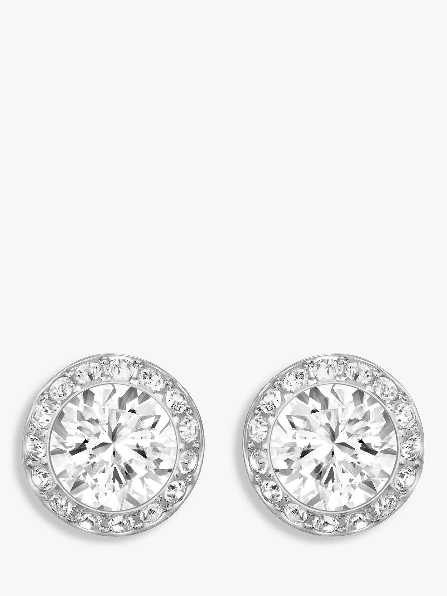 194a2a7053d75a Buy Swarovski Angelic Round Crystal Stud Earrings