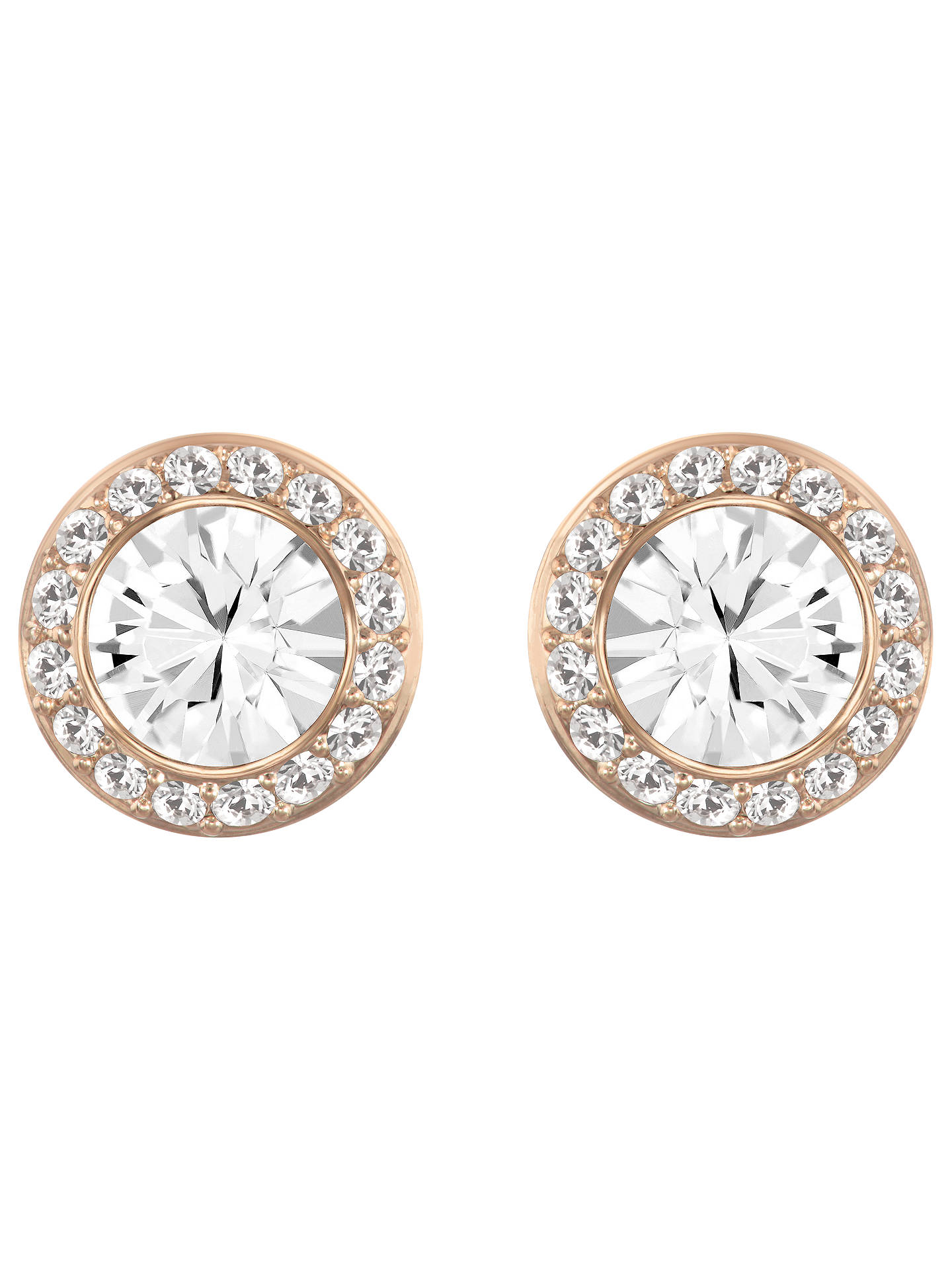 d872a42cff73b0 Swarovski Angelic Round Crystal Stud Earrings at John Lewis   Partners