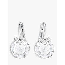Buy Swarovski Bella V Crystal Drop Earrings Online at johnlewis.com