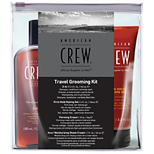 Buy American Crew Travel Grooming Kit Online at johnlewis.com