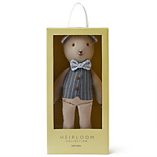 Buy John Lewis Heirloom Collection Bear Soft Toy Online at johnlewis.com