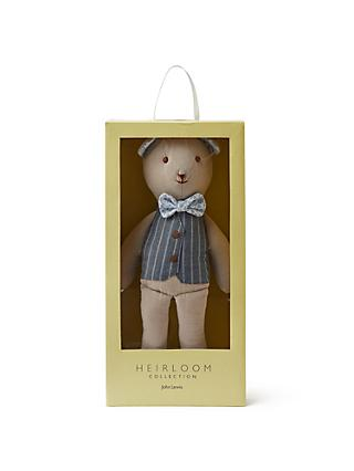 John Lewis & Partners Heirloom Collection Teddy Bear Soft Toy