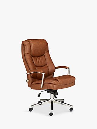 Office Chairs Desk Chairs Mesh Leather Office Chair John Lewis